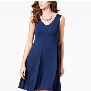 NWOT Style & Co sleeveless summer swing dress